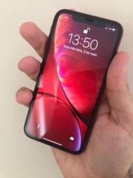 iPhone XR 64gb RED vitrine grande B pequenas marcas funcionando tudo perfeitamente
