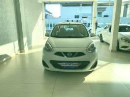 Nissan March S 1.6 2015 Branco Completo