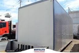 Baú carga seca em alumínio - Ibiporã - para caminhão toco