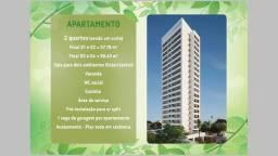 VM-M-Edf Paulo Ferreira I Casa Amarela I 57m² I 2 Quartos (1suíte) I Lançamento