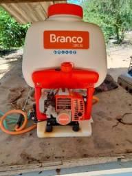 Título do anúncio: Pouverizador a gasolina BRANCO em perfeito estado