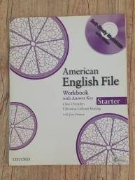 American English File Pack - workbook - student book -CD