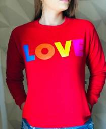 Blusa Moletom LOVE