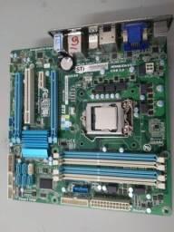 Placa LGA-1155-Gamer 2PCI-ExPess+4 Slots Memoria+HDMI