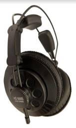 Fone de ouvido over-ear Superlux HD668B preto