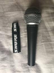 Microfone Dinâmico Shure SM-58