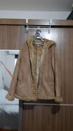 Casaco XL (GG). Pesado para baixas temperaturas.