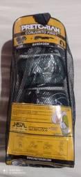 Luva Pretorian nova tamanho 12Oz com bandagem e protetor bucal