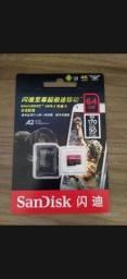 Cartão de Memóriaemória Sandisk Extreme Pro 64GB