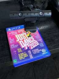 Câmera Ps4 e Just Dance 2020
