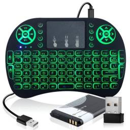 Mini Teclado Iluminado Led - Usb Qwerty Console Pc PoaCrm