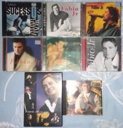 CDs e DVD do Fábio Jr.