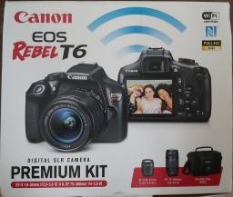 Canon T6 Kit Premium - 1.899,00