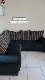 sofá de canto em ótimas condições.