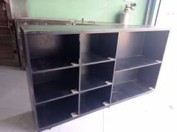 Coumeia preta 8 compartimento