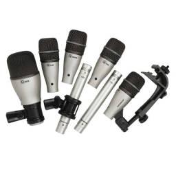 Kit Microfone Samson 7 Drum. ( Apenas Venda )