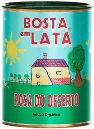 Bosta em lata - Adubo Orgânico para Rosa do Deserto - 500g