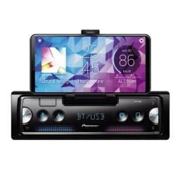 Rádio Mp3 Bluetooth Pioneer Sph-c10bt Usb Bluetooth-12 vezes sem juros