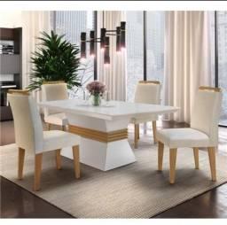 Vendo conjunto  de mesa com 4 cadeiras