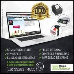 Gestor de Vendas - PDV, Estoque, Financeiro, Carnê, Etiquetas, S/Mensalidade - Campo G