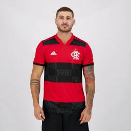 Camisa De Futebol Flamengo I 2021 Qualidade tailandesa
