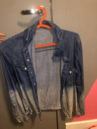 Jaqueta jeans fininha