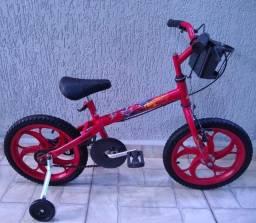 Bicicleta Caloi aro 16 Macqueen
