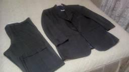Terno Cinza ( Calça e Blazer)