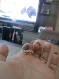 Lindo anel ouro 750