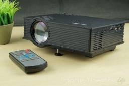 Projetor - até 120 polegadas - telão em casa - filmes videos etc