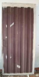 Porta(Portão) de Chapa e Metalon Super Reforçado