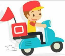 Motoboy com moto e habilitação