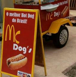 Trailler de hot dog