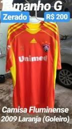 Camisa Fluminense 2009 Laranja (G) Goleiro 7d3b105682995