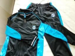 b2d136956c036 Conjunto abrigo Grêmio Oficial Original