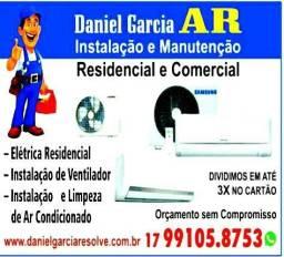 Instalação ar condicionado e manutenção