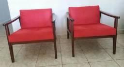 Cadeiras Casa Park - cor vermelha