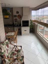 Apartamento com 3 dormitórios à venda, 138 m² por r$ 530.000 - aviação - praia grande/sp