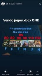 Jogos Xbox one em perfeito estado