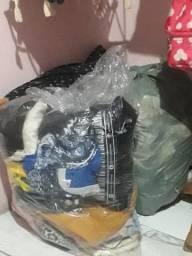 Lote de roupas conservadas