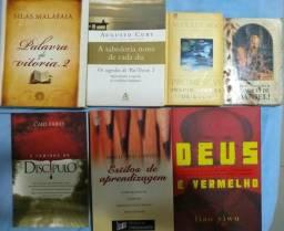Kit de 7 Livros Evangélicos por 50