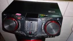 Som da LG top 1800w bluetooth com DJ