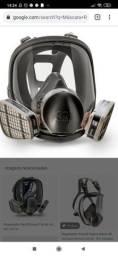 Respirador Reutilizável Facial Inteira $350
