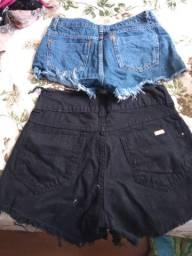 Shorts diversos Tam 36