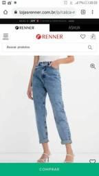 Vende-se calça nunca usada