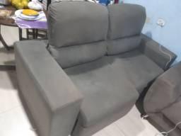 Vendo sofá retratil e reclinável