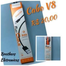 Cabo Rapido Conector V8. 3.0A output comprar usado  Campo Grande