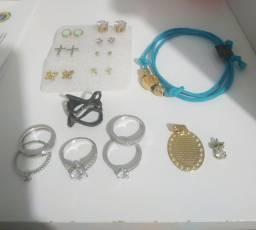 Lote bijuterias (usadas)
