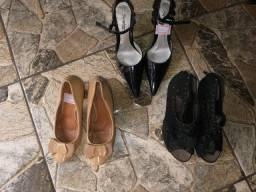 Sapatos femininos tamanho 36