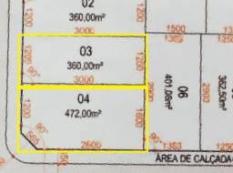 2 Lotes residenciais no Loteamento Parque das Torres - vista pro Shopping Pato Branco